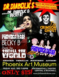 Dr. Diabolic Traveling Roadshow & Fun-Time Variety Hour