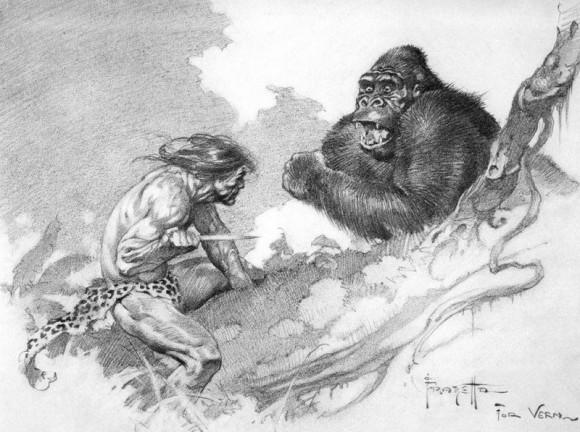 Tarzan by Frank Frazetta