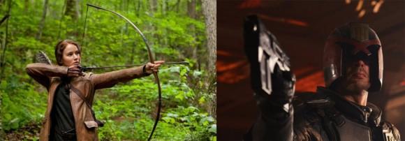 What if Katniss Everdeen fought John Carter and Judge Dredd in a fair fight?
