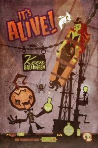 Keen Halloween Exclusive Print