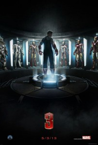 Iron Man 3 official movie poster