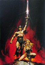 Conan the Barbarian promo image by Renato Casaro