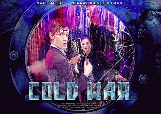 The Doctor and Clara land on a damaged Russian Submarine in 1983 as it spirals out of control into the ocean depths. An alien creature is loose on board, having escaped from a block of Arctic ice. With tempers flaring and a cargo of nuclear weapons on board, it's not just the crew but the whole of humanity at stake!  Executive produced by Steven Moffat and Caroline Skinner  Directed by Douglas Mackinnon  Written by Mark Gatiss  Produced by Marcus Wilson