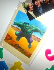 Blevins Hulk Card