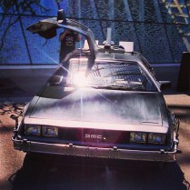 DeLorean DMC-12 Time-Machine