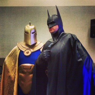 Dr. Fate & Batman from JLAZ