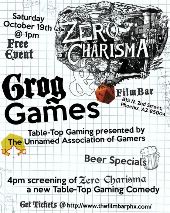 Grog & Games at FilmBar