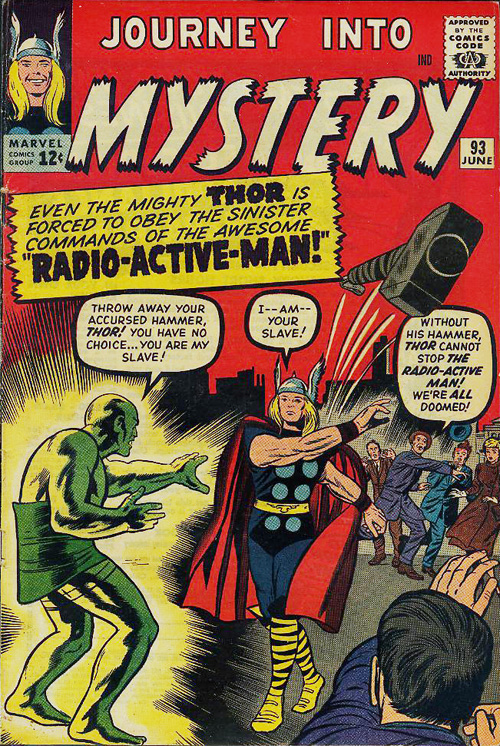 Journey into Mystery #93 - June, 1963