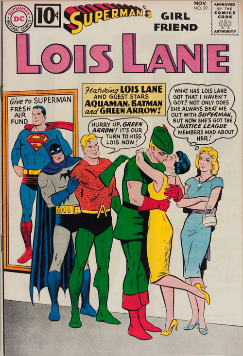 Superman's Girlfriend, Lois Lane #29 - November, 1961