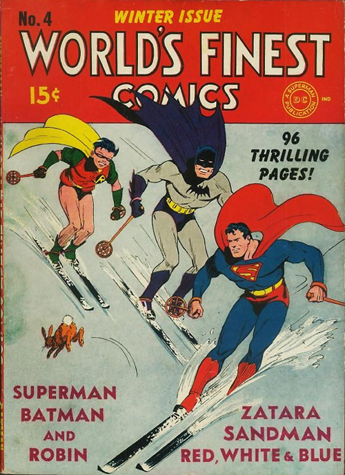 World's Finest #4 - December, 1941