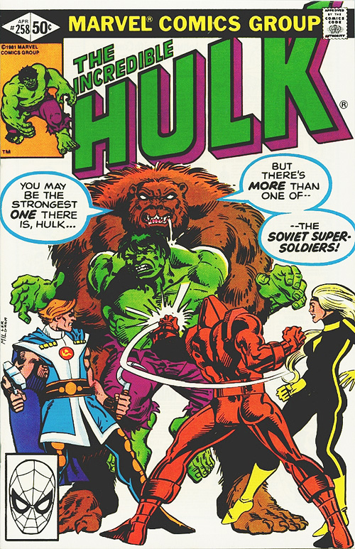 Incredible Hulk #258 - April, 1981