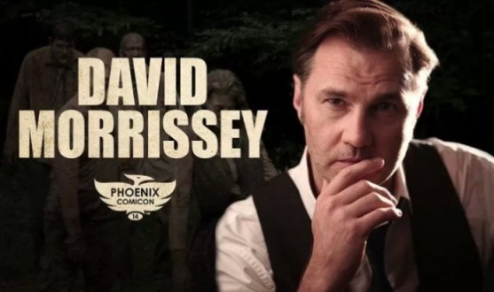David Morrissey at Phoenix Comicon 2014