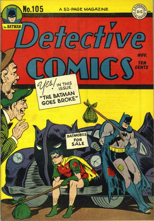 Detective Comics #105 – November, 1945