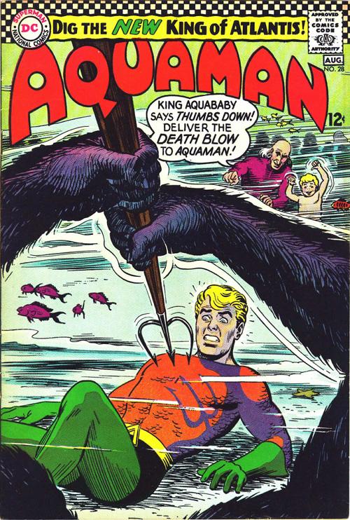 Aquaman #28 – August, 1966
