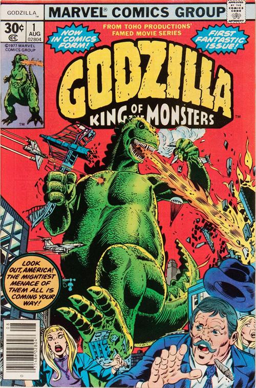 Godzilla #1 – August, 1977
