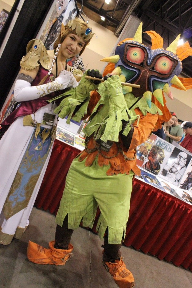 Another Zelda and a Majora's Mask cosplayer. (Photo by Christen Bejar)