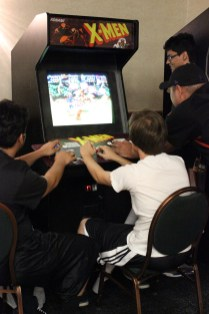 Gamers took a break from the action to play more games in the AZHP room. (Photo by Christen Bejar)