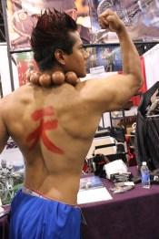 Akuma from Street Fighter. (Photo by Christen Bejar)