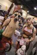 A Psycho and Tiny Tina from Borderlands 2. (Photo by Christen Bejar)