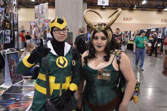 Kid Loki and Lady Loki