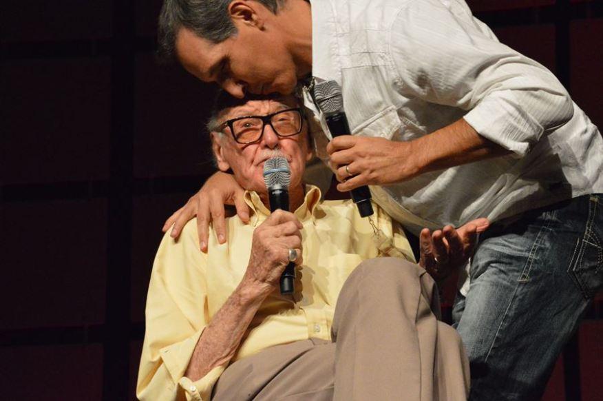 Stan Lee and Todd McFarlane