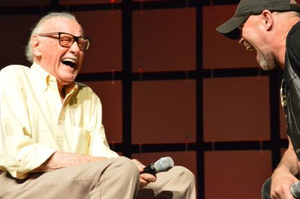Stan Lee and Michael Rooker