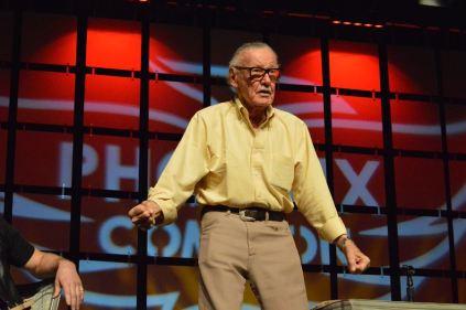 Stan Lee at Sunday's Phoenix Comicon