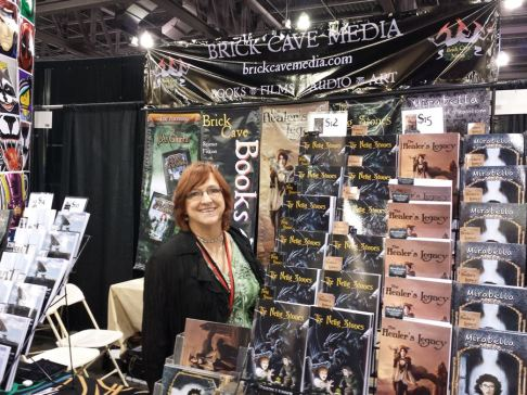 Sharon Skinner at Brick Cave Media Booth #1601-1603