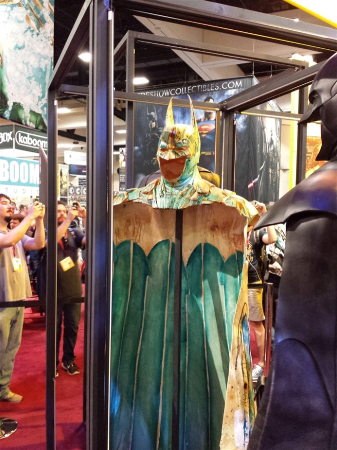 Batman Cowl & CapeArt Display