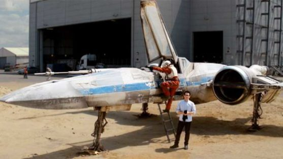 Star Wars Episode VII X-Wing Starfighter