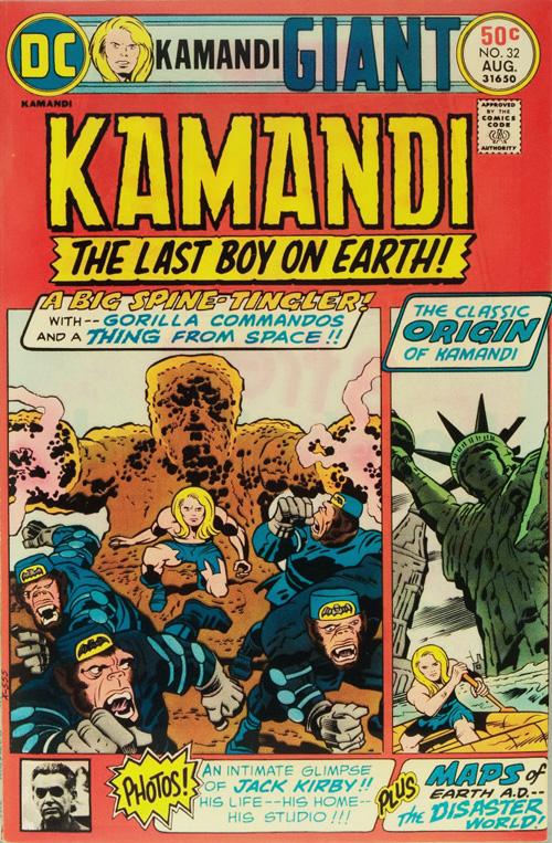 Kamandi #32 – August, 1975