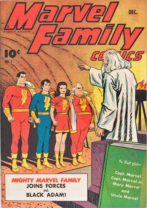 Marvel Family #1 – December, 1945