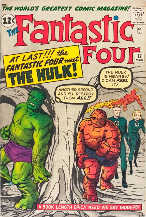 Fantastic Four #12 – March, 1963