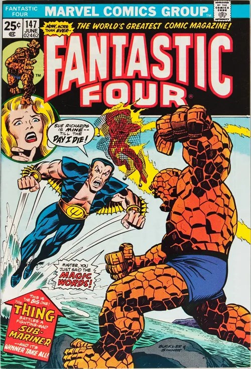 Fantastic Four #147 - June, 1974