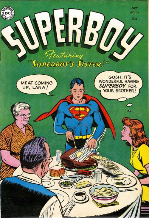 Superboy #36 – October, 1954