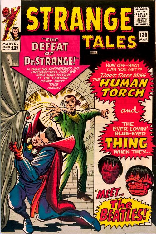 Strange Tales #130 – March, 1965