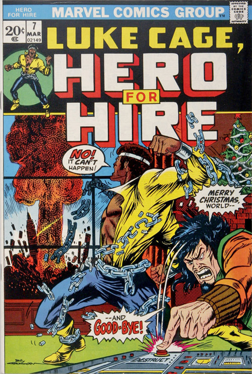 Luke Cage, Hero for Hire #7 – March, 1973