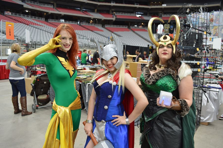 University of Phoenix Stadium Phoenix Comicon Fan Fest