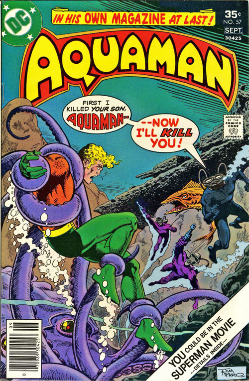 Aquaman #57 – September, 1977