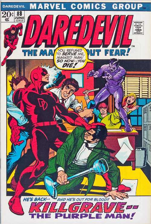 Daredevil #88 – June, 1972
