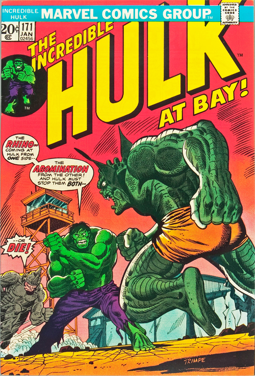 Incredible Hulk #171 - January, 1974