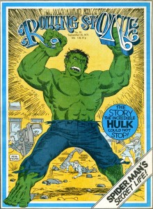 Rolling Stone - Sept. 1971 - Cover by Herb Trimpe
