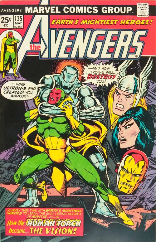 Avengers #135 – May, 1975
