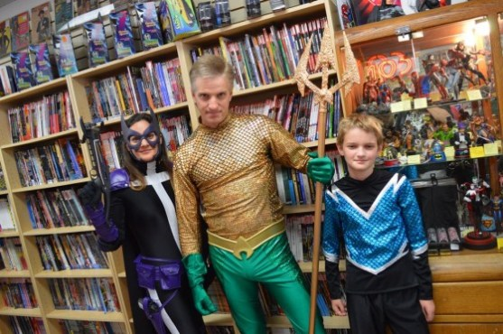 Aquaman Family at All About Books & Comics - FCBD 2015