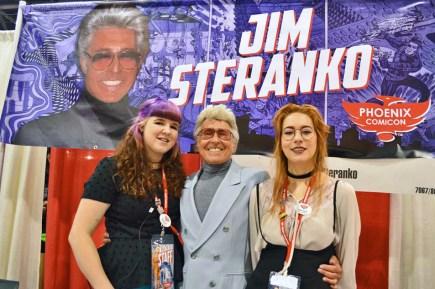 Jim Steranko and friends at Phoenix Comicon 2015.