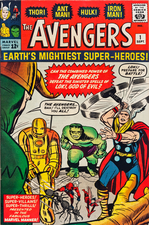 Avengers #1 – September, 1963