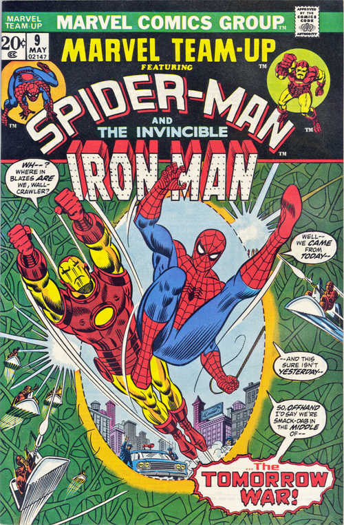 Marvel Team-Up #9 – May, 1973