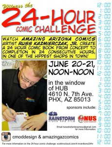 Amazing Arizona Comic's 24-hour Comic Challenge