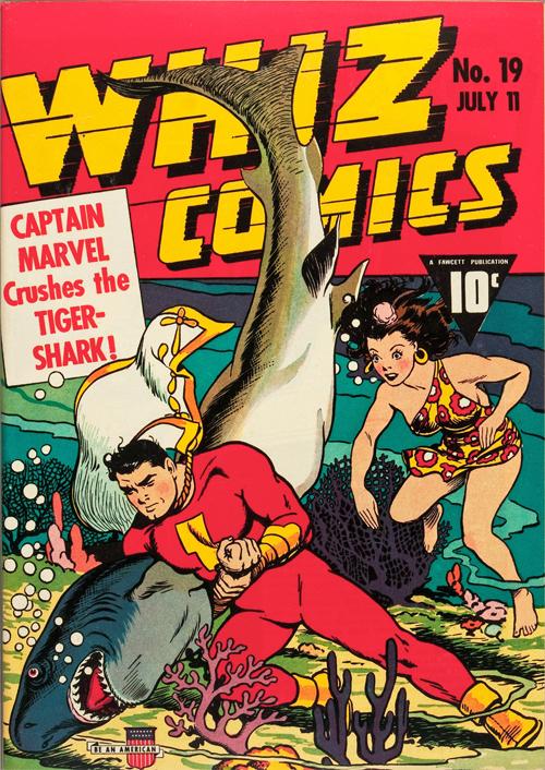 Whiz Comics #19 – July, 1941