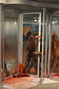 The Walking Dead exhibit